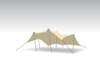 Kit Tente Stretch Bonga 6,5x6,5m