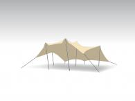 Kit Tente Stretch Bonga 6,5x10m