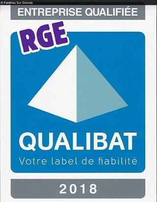Entreprise certifiée RGE