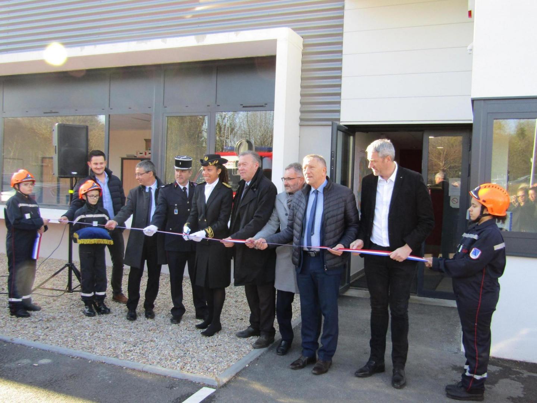 Inauguration du centre de secours