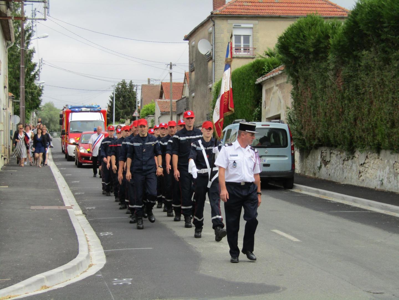 Défilé des Sapeurs-Pompiers