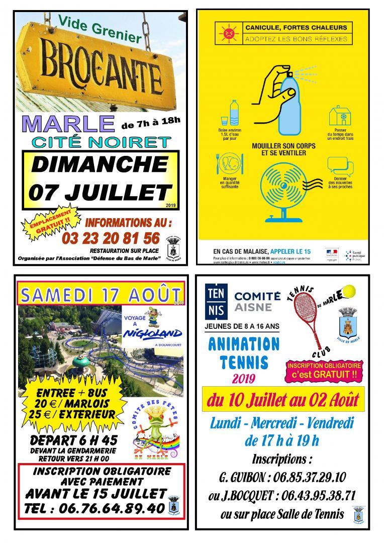 MARLE INFO JUILLET AOÛT PAGE 4 - 2019