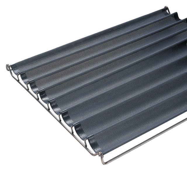Filet de cuisson fibre de verre siliconé 600x800 mm 8 alvéoles