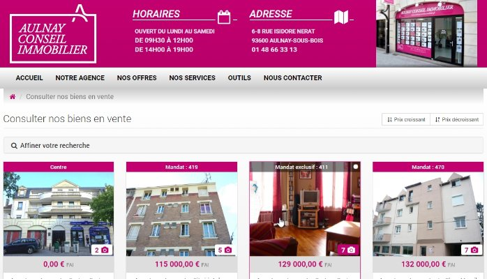 Aulnay Conseil Immobilier
