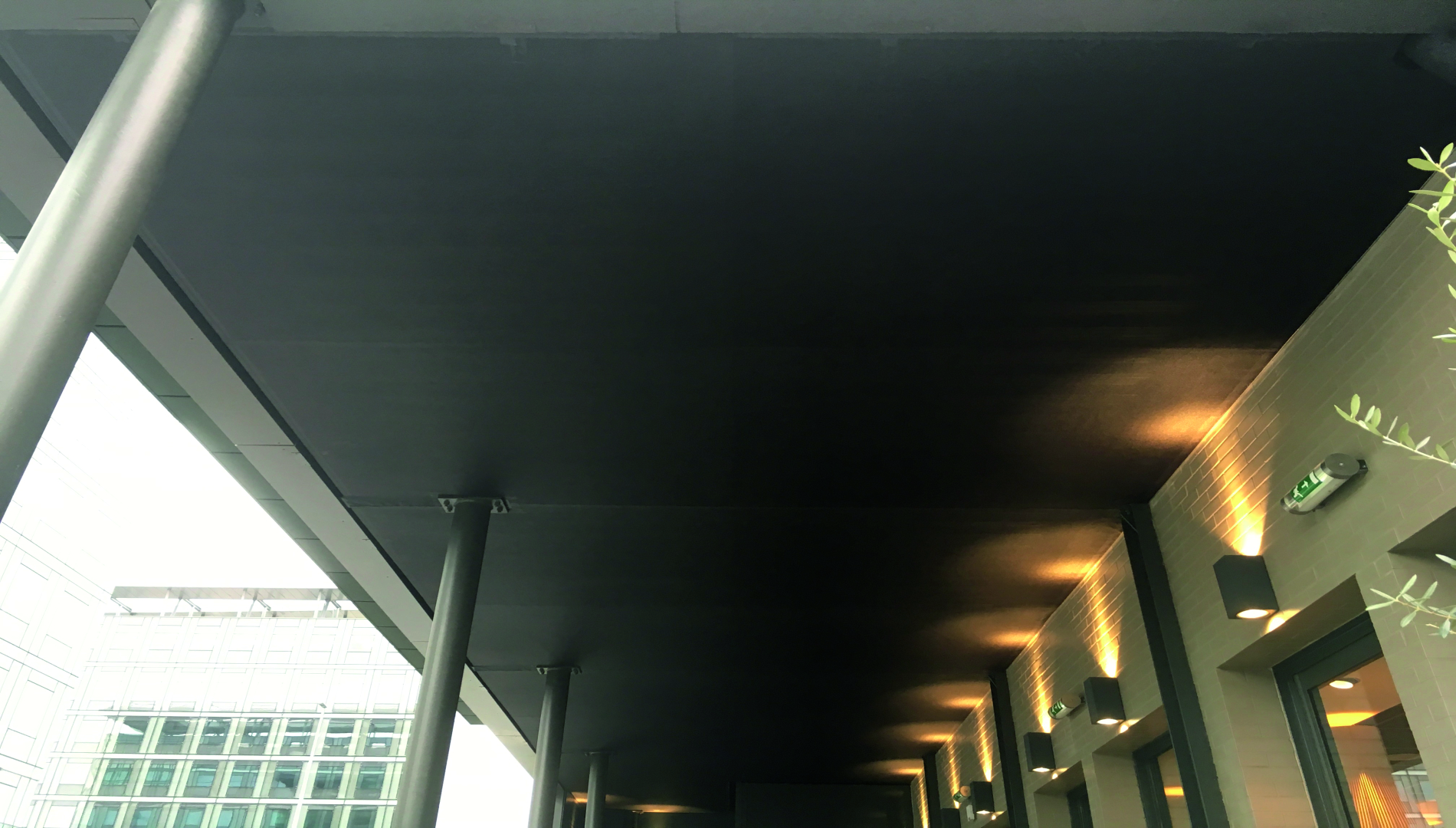 Solutions de couverture sur terrasse de restaurant